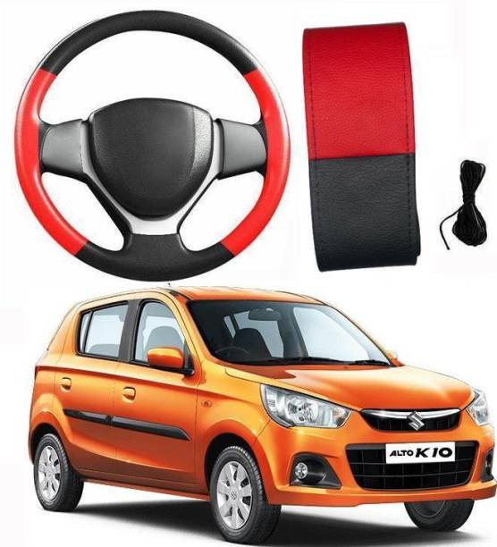 arneja trading company Hand Stiched Steering Cover For Maruti Alto K10