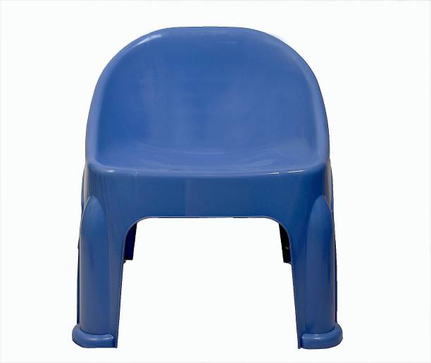 mastBus (1 Pcs) Baby Chair | Plastic Baby Chair For Kids| Chair For Kids Kids 2, 3, 4 & 5 Years | 6 Months Warranty (Blue)