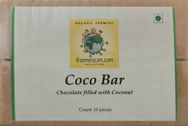 iFarmerscart Coco Bar | Chocolate Filled with Coconuts Bars