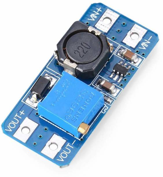 Super Debug MT3608 2A DC-DC Adjustable Step Up Power Module Booster Power Module Electronic Components Electronic Hobby Kit