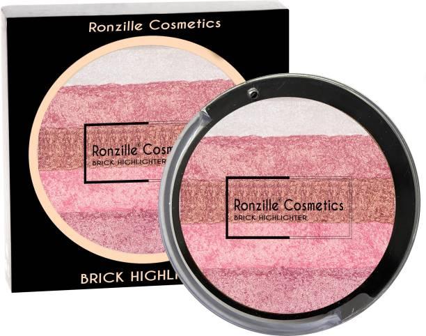 RONZILLE Baked Radiant Pigmented Shimmer Brick 3 Highlighter