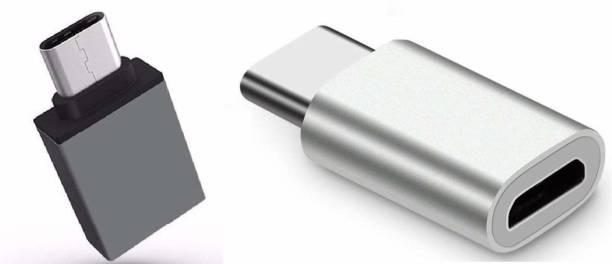 RqmQ USB Type C, Micro USB, USB OTG Adapter