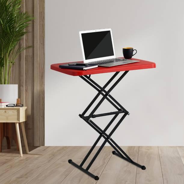 Supreme Scissor for Home & Garden Height Adjusting Plastic Outdoor Table
