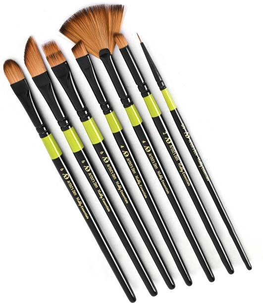 Artist's Den Hobby Essential Set of 7 Mix Brushes