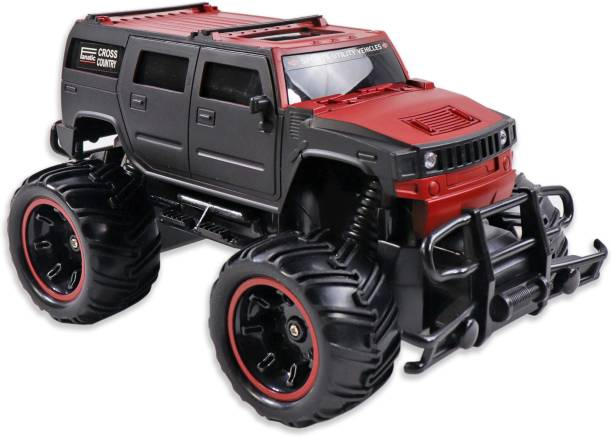 Tector 1:20 Hummer Style Mad Racing Cross Country Monster Remote Control Rechargeable Truck