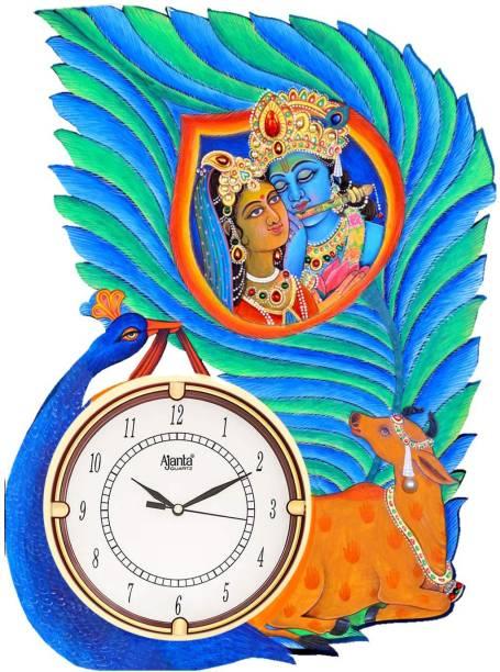 AJANTA Analog 42 cm X 30 cm Wall Clock