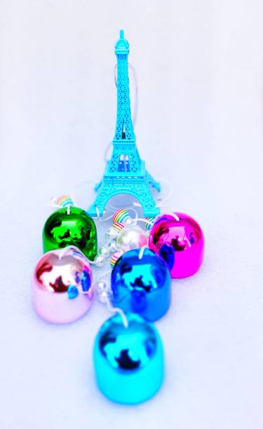 prajastore Multi color Eiffel Tower Wind Chime For Home Decoration Balcony, Garden Gallery Office Bedroom with Good Sound Quality The Positive Energy metal wind chime Iron Windchime