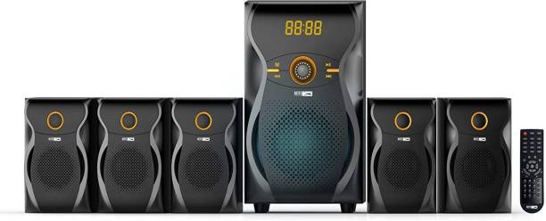 ALTEC LANSING AL-5.1-02 40 W Multimedia Bluetooth Home Theatre System Wired Subwoofer Soundbar Supports Bluetooth,USB,FM Radio (Black, Grey, 5.1 Channel) 40 W Bluetooth Home Theatre