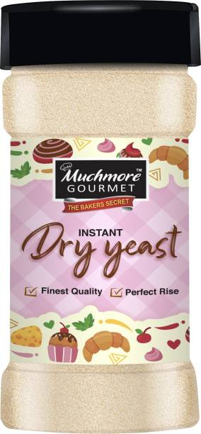Muchmore Active Instant Baker's Dry Yeast Used in Baking Pizza Base , Cakes , Breads / Premium Quality / Perfect Rise / Easy Store Pack (175 g) Yeast Powder