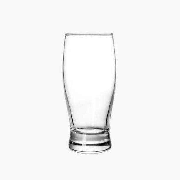 Gi4n (Pack of 6) Beer Glass (Set of 6) 350 ml Glass Set