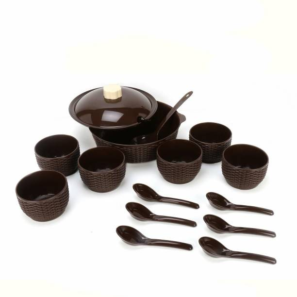 Nabhya Bowl, Spoon, Ladle Serving Set