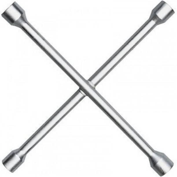 gizmo 4 Way Car Wheel Screws Wrench Brace Spanner Tool Single Sided Speciality