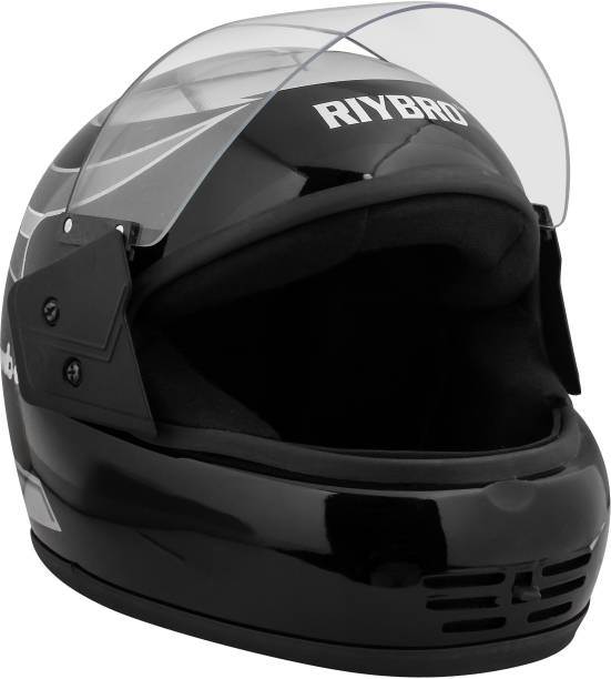 COFFARS Full Face Helmet with Adjustable Strap for Men & Women Bike & Scooty Riding Motorbike Helmet