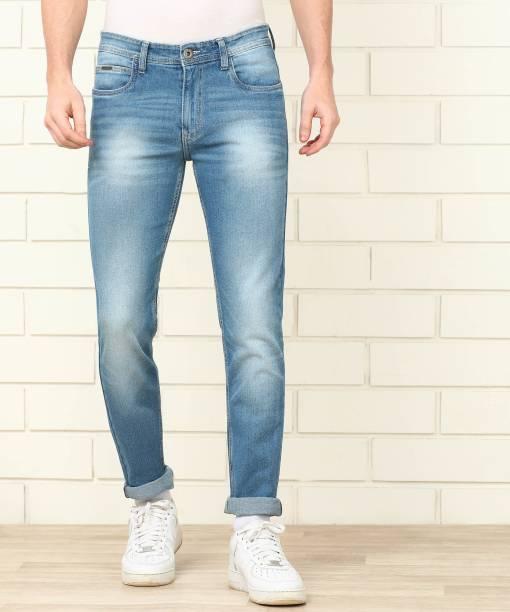 PROVOGUE Slim Men Blue Jeans
