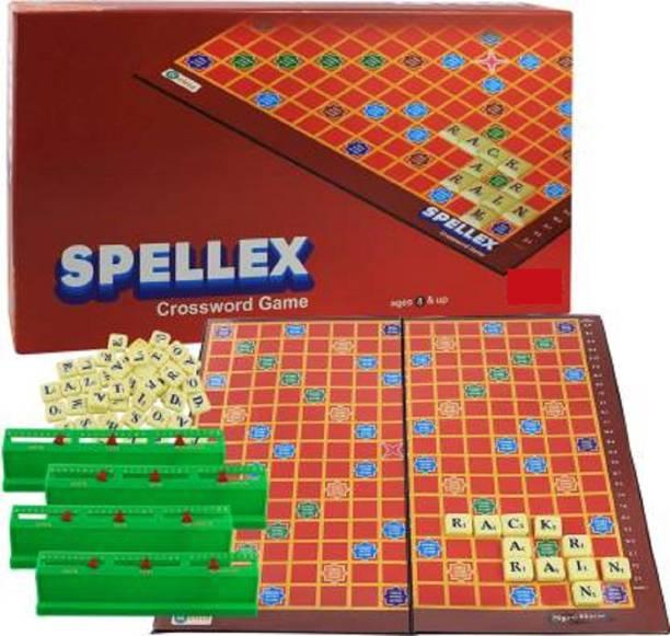 Aarohi Collections Spellex Crossword Game Word Games Board Game Word Games Board Game