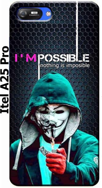 TrenoSio Back Cover for Itel A25 Pro