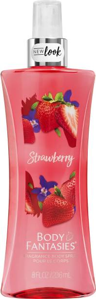 BODY FANTASIES Signature Fragrance Body Mist & Spray Strawberry Body Mist  -  For Men & Women
