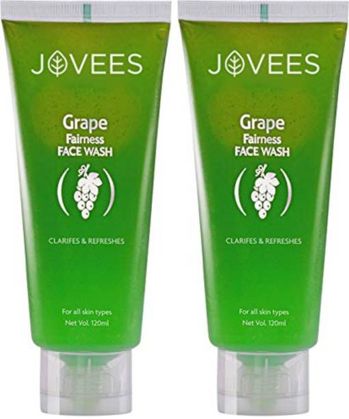 JOVEES Grape Face wash (Pack of 2) Face Wash