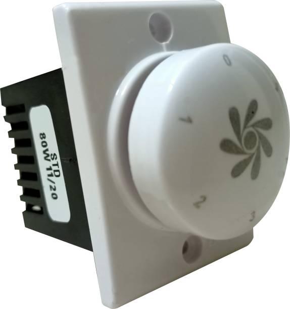 PRV SWITCH 5 STEP -1PC FAN REGULATOR Step-Type Button Regulator dimmer Step-Type Button Regulator