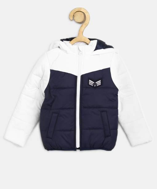 Allen Solly Full Sleeve Colorblock Boys Jacket