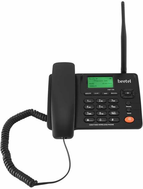 Beetel F2N Dual SIM GSM Fixed Wireless Phone Cordless Landline Phone