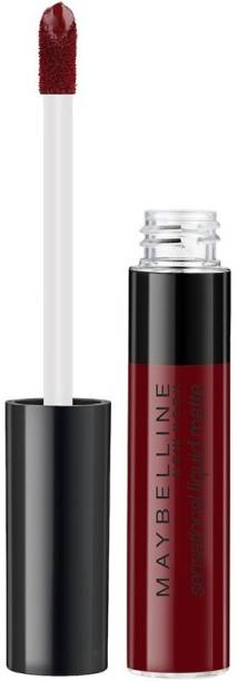 MAYBELLINE NEW YORK Sensational Liquid Matte Lipstick 02, Soft Wine, 7 ml