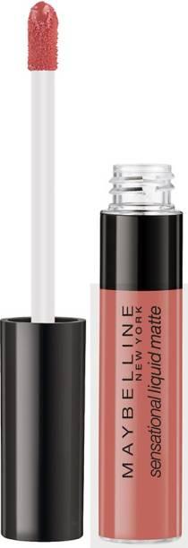 MAYBELLINE NEW YORK Sensational Liquid Matte Lipstick 10, Bday Suit On, 7 ml