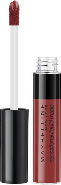 MAYBELLINE NEW YORK Sensational Liquid Matte Lipstick 11, Made Easy, 7G.
