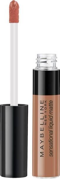 MAYBELLINE NEW YORK Sensational Liquid Matte Lipstick 07, Barely Nude, 7ml.