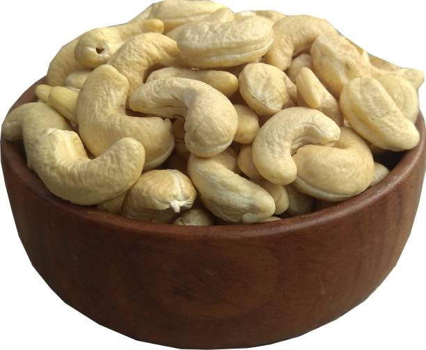 Fresh Spices Natural Premium Large Size Whole Cashews W240, (500gm) Kaju ,Cashew Nuts , Dry Fruits Cashews