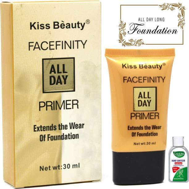 Kiss Beauty All Day Primer, (58307), 30ml Primer  - 30 ml