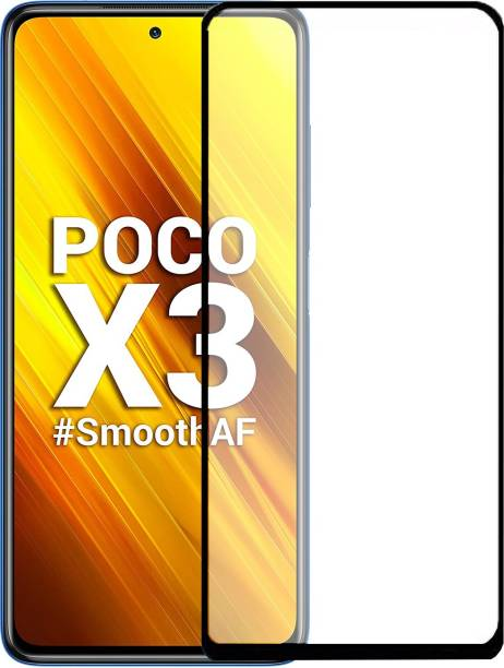 iZAP Edge To Edge Tempered Glass for Poco X3 pro, Poco X3, Infinix Hot 9, Infinix Hot 9 Pro, Motorola Moto G 5G, Mi 10T, Poco X2, Poco M2pro, Oppo A12