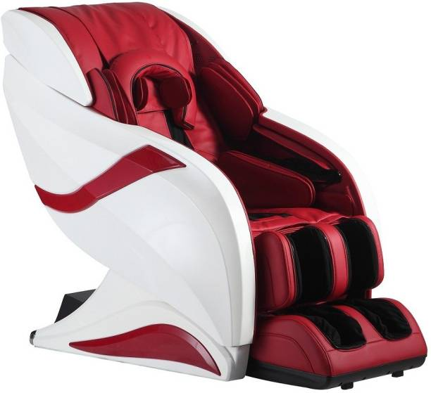 HCI HC 1012 eRelaxic a Japanese Therapeutic Massage Chair with Zero Gravity, Full Body Stretch, Hot Stone, Longest 145 cm SL Massage Track (Red Color) Massage Chair