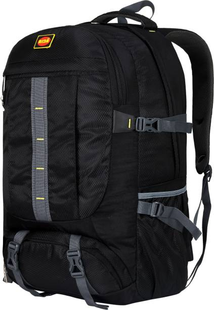 RIDA Water Proof Rucksack/Hiking/Trekking/Camping Bag with Shoe Compartment Black