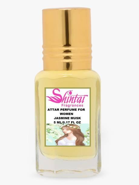 Shintai Fragrances Attar Perfume For Women Jasmine Musk 5ML Floral Attar