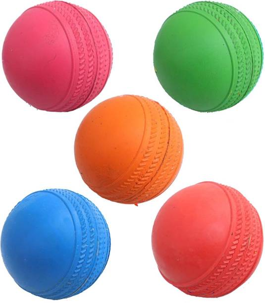 CREDENCE Ricky Pack of 5 Cricket Rubber Cricket Rubber Ball