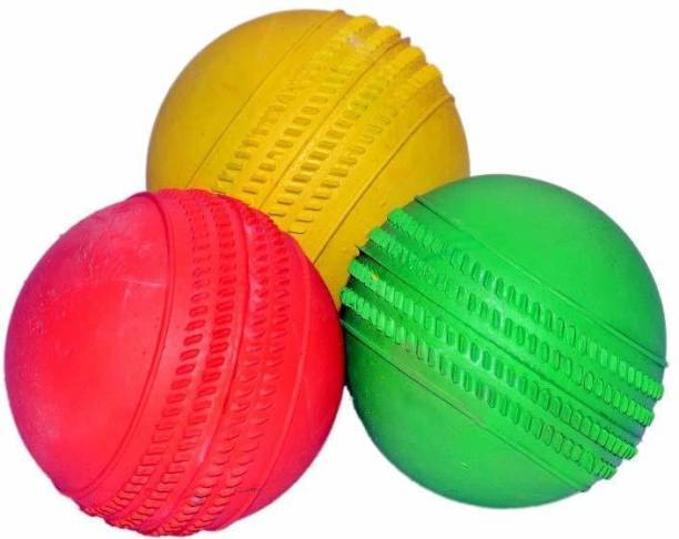 CREDENCE Ricky Pack of 3 Cricket Rubber Cricket Rubber Ball