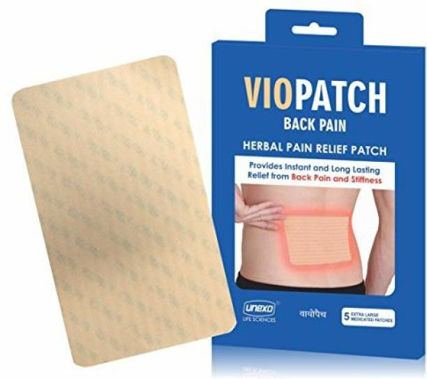 Viopatch XL - Pain Relief Patch for Back Pain - 5 Extra Large Patches Plaster & Patch