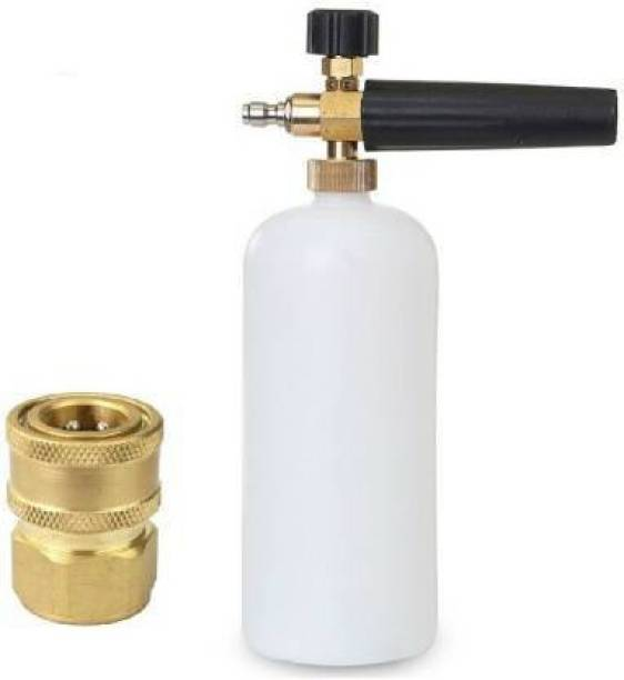 Kuber Adjustable Car Wash Foam Gun Snow Pressure Washer Jet Wash with Connector High Washer for Car Washing Snow Foam Pressure Washer Spray Gun