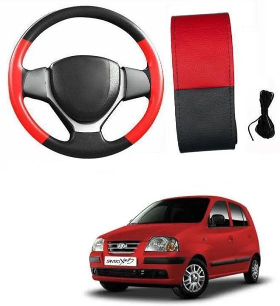 arneja trading company Hand Stiched Steering Cover For Hyundai Santro Xing