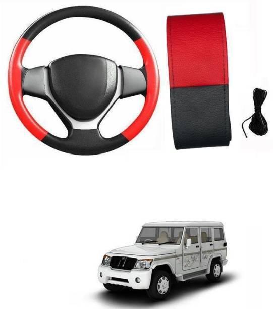 arneja trading company Hand Stiched Steering Cover For Mahindra Bolero