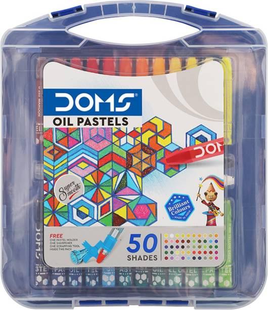 DOMS Oil Pastel 50 Shades(Hexagonal)