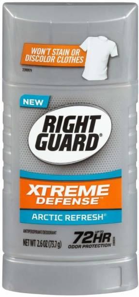 Right Guard Xtreme Defense Arctic Refresh Antiperspirant Deodorant Stick  -  For Men
