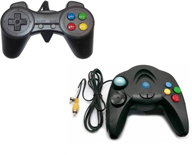 Clubics Plug and Play TV Video Game AK-2521D Video Game - (2 Controller) 2 GB with Contra, Super Mario