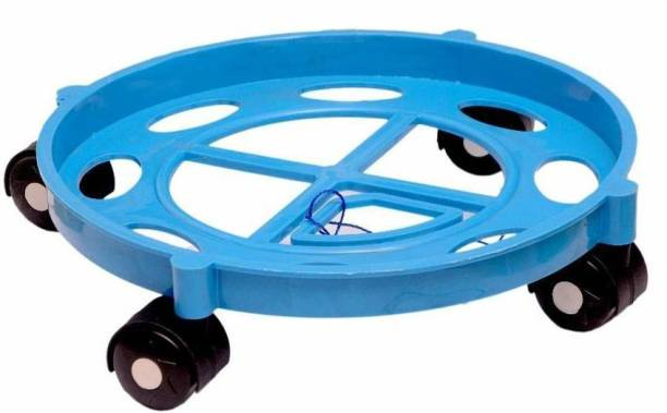 Flipkart SmartBuy LPG Cylinder Trolley Movable Stand with Wheels Gas Cylinder Trolley