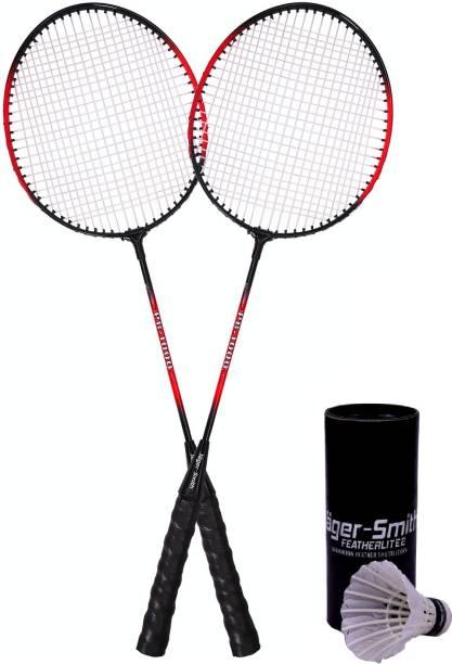 Jager-Smith PB-1000 Combo & Featherlite 2 Shuttle Badminton Kit