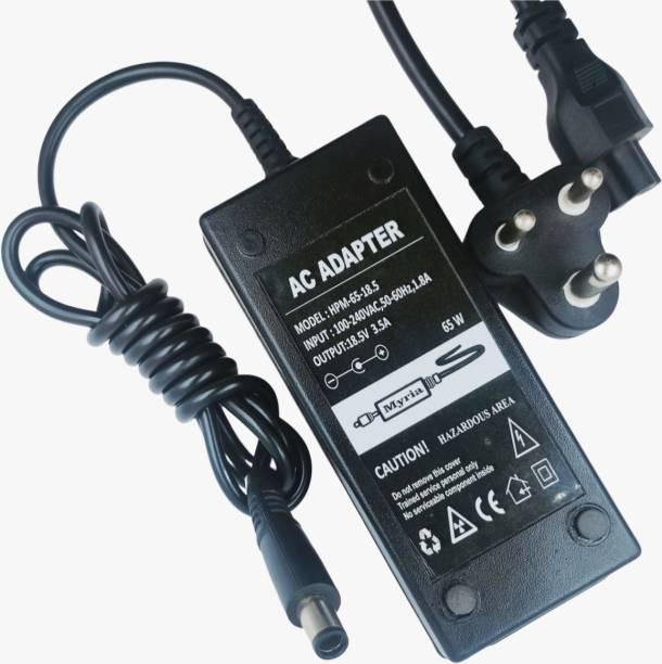 Myria My elitebook laptop charger 65W moti pin 7.4 x 5.5 mm 65 W Adapter