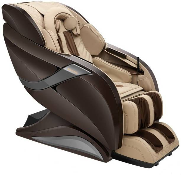 HCI HC eRelaxic a Japanese Therapeutic Massage Chair with Zero Gravity, Full Body Stretch, Hot Stone, Longest 145 cm SL Massage Track. (Brown) Massage Chair