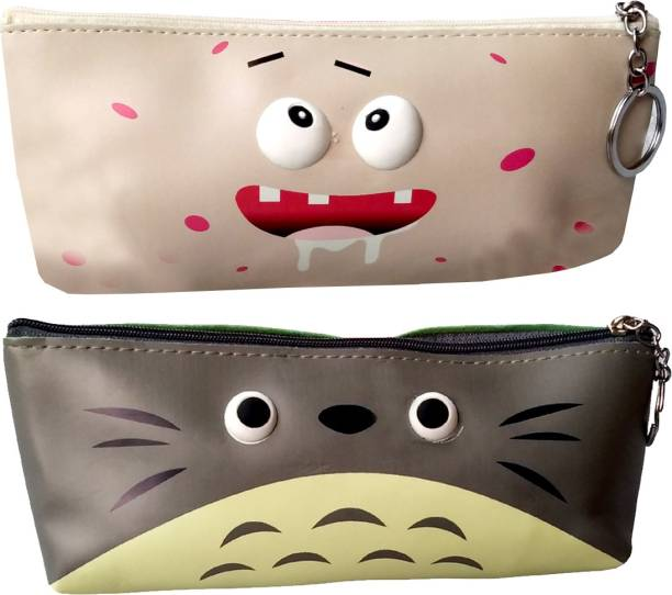 ARVANA Cosmetic pouch for girls Pouches for school stationary item birthday return gits for kids Art Polyester Pencil Boxes