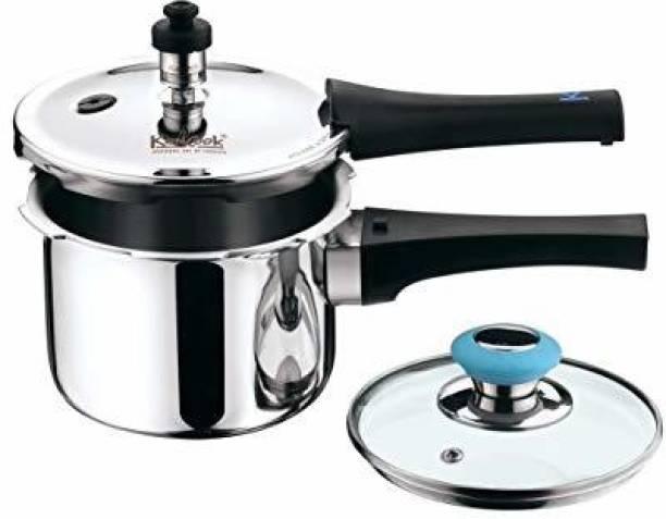 KENCOOK KENCOOK TRIPLY COOKER 1.5LTR 1.5 L Induction Bottom Pressure Cooker